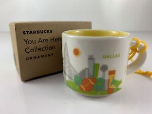 Starbucks YOU ARE HERE Collection D//S California Mini Mug 2 Oz Ornament Cup NEW