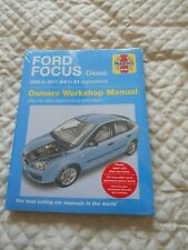 Haynes Owners 54 to 09 H4785 2005-2009 Workshop Car Manual Ford Focus Petrol