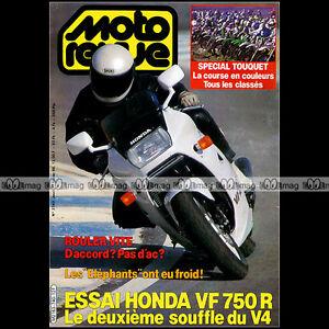 MOTO-REVUE-N-2740-HONDA-VFR-750-ENDURO-DU-TOUQUET-ELEPHANTS-RALLYE-ATLAS-1986