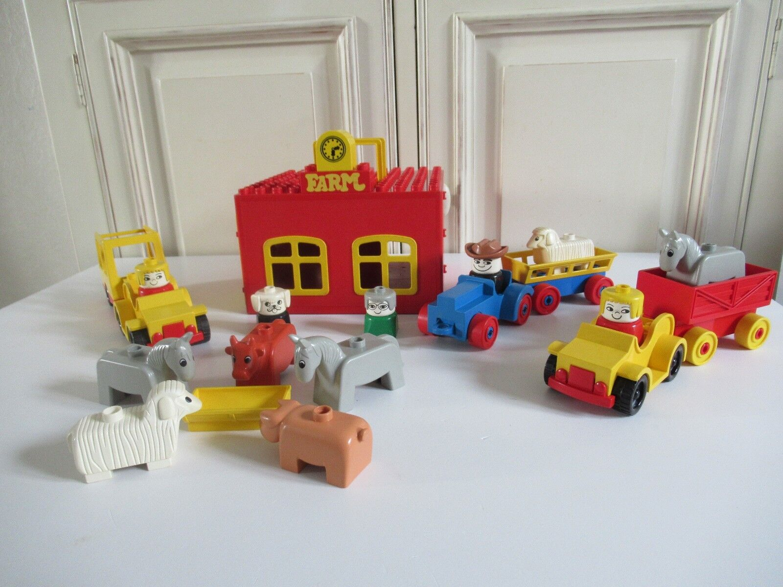 Ancienne Ferme  Animaux Lego Duplo Vintage  livraison éclair