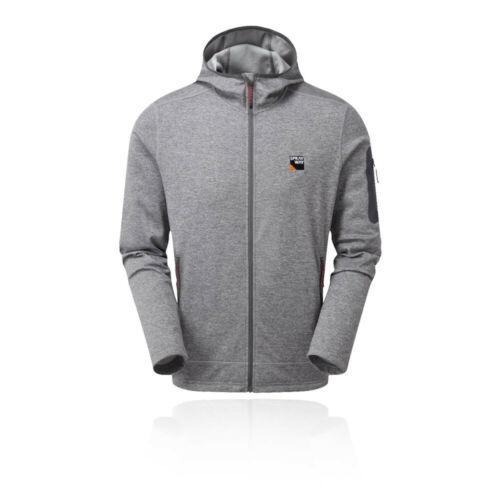 Grey Sports Outdoors Full Zip Hooded Breathable Sprayway Mens Saul Hoody
