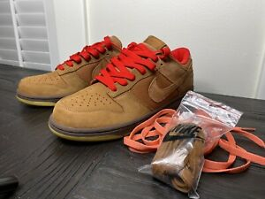 Nike-Dunk-Low-Cl-Hazelnut-Size-11-SB-6-0-High-Mod-Jordan-Retro-1-Air-Force-Max