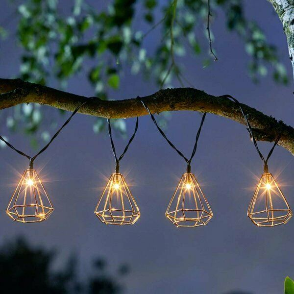 Geo Solar String Lights 10 Led Outdoor, What Are The Best Outdoor Solar String Lights