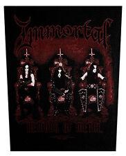 IMMORTAL - Rückenaufnäher Backpatch Demons of Metal