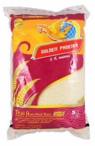 (3,98 €/1kg) [5 KG] Golden Phoenix Thai profumo riso Lang Korn/Jasmine Rice