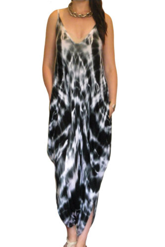 Ladies Jumpsuit Playsuit Summer Beachwear Harem Shorts Size 8 10 12 14 16