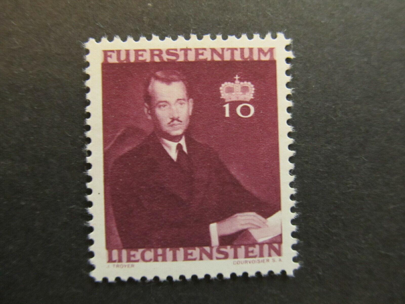A4P26F86 Liechtenstein 1943 10rp mh*