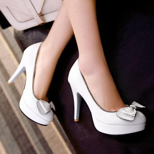 Womens Brogue High Heel Retro Vintage Classic Pumps Lita Candy Shoes Plus Size 9