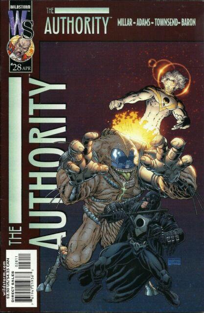 Authority, The #28 Wildstorm Productions Comics April Apr 2002 (VF+)