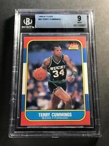 TERRY-CUMMINGS-1986-86-87-FLEER-20-ROOKIE-RC-MINT-BGS-9-MILWAUKEE-BUCKS-NBA