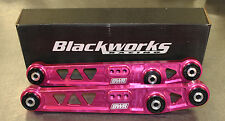 Blackworks BWR Rear Lower Control Arms LCA 88-95 Civic 90-01 Integra PINK