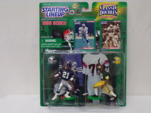 VINTAGE SEALED 1998 Starting Lineup Classic Doubles Deion Sanders Herb Adderley