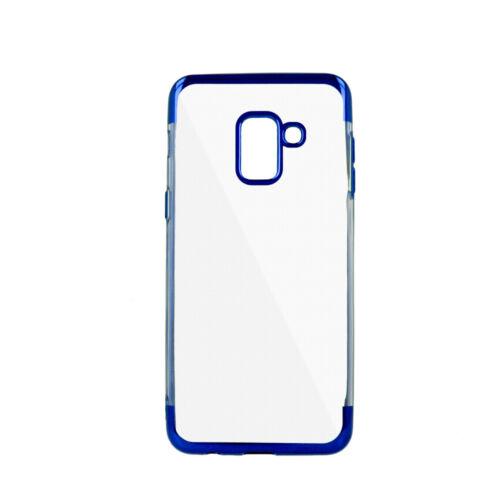 funda bolsa azul para OnePlus 7 Bumper plating Soft protección móvil back
