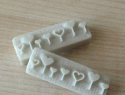 Small Heart Resin Seal Soap Stamp For Handmade Soap Candle Candy Stamp Fimo