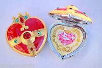 Sailor Moon S Cosmic Heart Compact Mirror Brooch Locket Cosplay Doll Prop