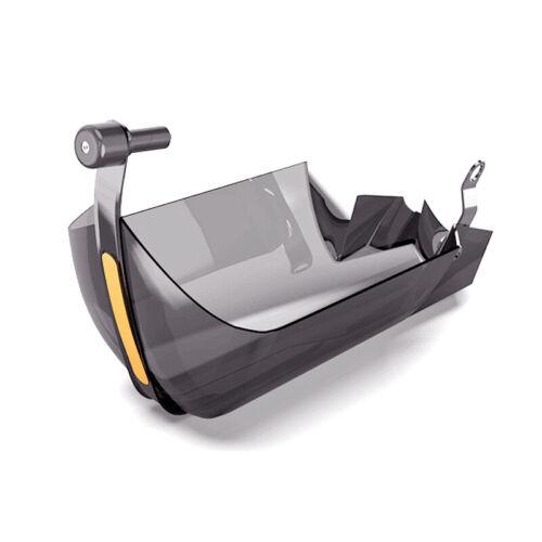 Pair of 22mm Motorcycle Dirt Bike Handle Bar Hand Guard Wind Deflector Shield