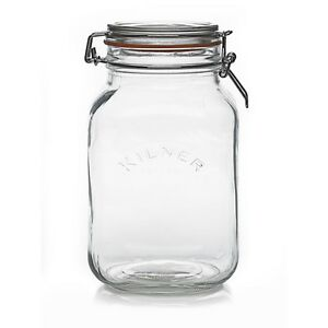 G Glass Storage Jars
