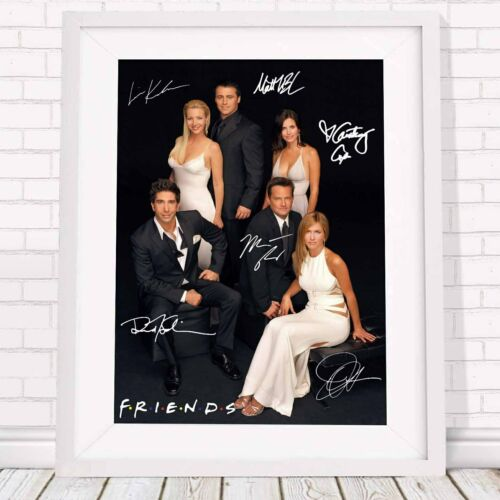 Friends TV Show Cast Poster Picture Print Sizes A5 to A0 **FREE DELIVERY**