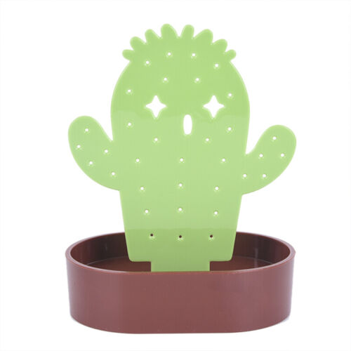 Cactus Earrings Holder Jewelry Display Stand Necklace Bracelet Storage xl