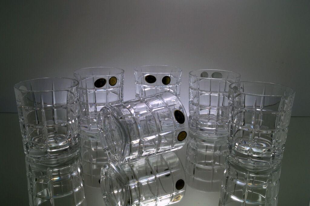 Bohemia Whisky-Set 6 Whiskygläser aus Bleikristall böhmischem Kristall Wasser       Kaufen Sie online  97b944