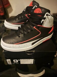 9dd4fe15e985 NIKE AIR JORDAN 2 II RETRO INFRARED 23 385475-023 DS SIZE 9.5 with ...