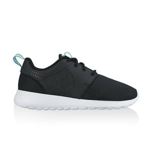 best website f144c 7cc4b Details about Wmns Nike Roshe One PRM UK 4.5 EUR 38 Black White Gold New  833928 002