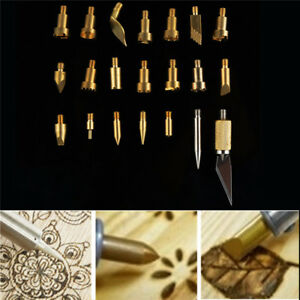 22Pcs-Wood-Burning-Tips-Stencil-Soldering-Iron-Pyrography-Working-Carving-Tools