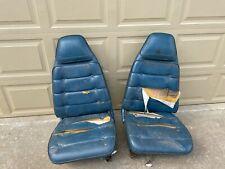 1971 1974 Mopar Bucket Seats B Body Tracks Amp Backs Super Bee Charger Pair