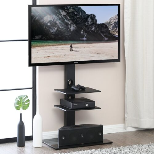 TV Stand Mount Hold Up Table Top for most 32-65 inch Flat Screen TVs Smart TV