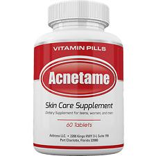 Best Acne Treatment Pills Supplement- Natural Pimple Vitamin- Acnetame