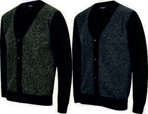 MENS-WOOL-LOOK-CARDIGAN-BUTTON-UP-V-NECK-WARM-FASHION-BLACK-BLUE-SIZE-S-XXL-NEW