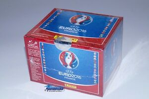 Panini-Euro-France-2016-EM-16-Display-100-Tueten-500-Sticker-Neu-OVP