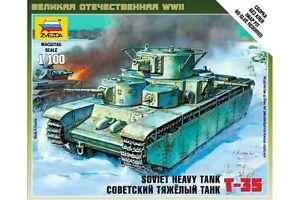 ZVEZDA-6203-1-100-Soviet-Heavy-Tank-T-35
