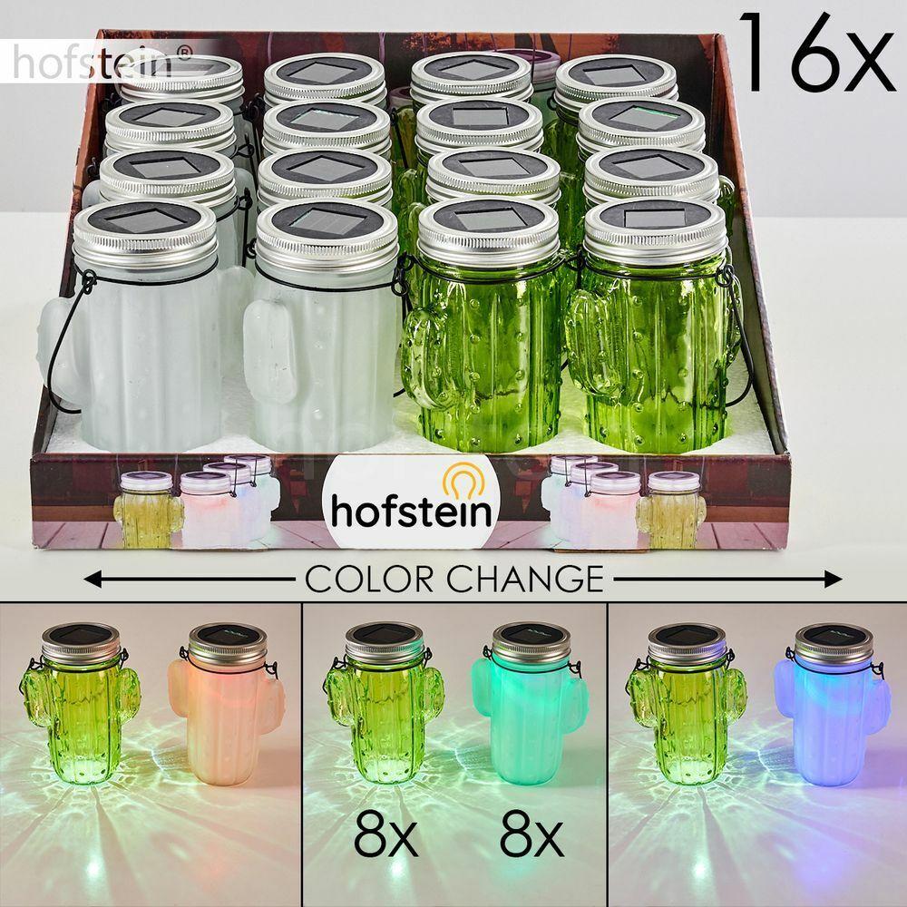 Solar Deko Lampe LED Außen Hänge Tisch Leuchten 16er Set Garten Balkon Terrassen