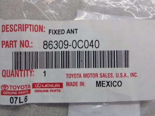 Toyota Tundra 07-13 Pillar Antenna Pole Sub-Assy Mast Genuine OEM OE