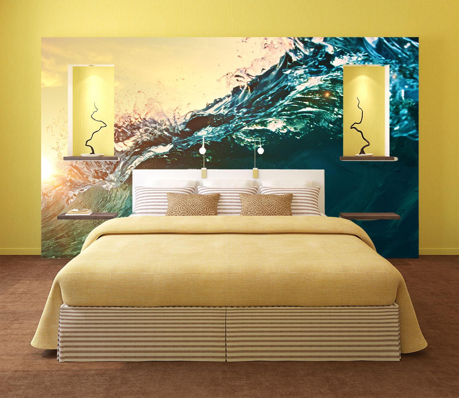 3D Meereswellen 9632 Tapete Wandgemälde Tapete Tapete Tapete Tapeten Bild Familie DE Summer    ein guter Ruf in der Welt    Kunde zuerst    Perfekt In Verarbeitung  09718e