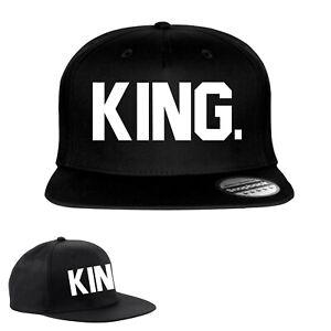 más popular tiendas populares chic clásico Detalles de Queen King Snapback Moda Impreso Gorra Hip-Hop Gorra Gorras  Sombreros Sombrero