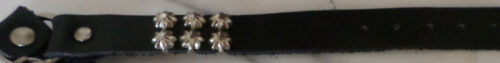 WESTERN COWBOY  BIKER STAR CONCHO BOOT CHAINS  BLK  MADE WELL  ONE SIZE