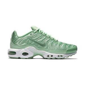 Details about Women's Nike Air Max Plus SATIN PACK GREEN MINT ENAMEL TUNED 830768 331 sz 8.5