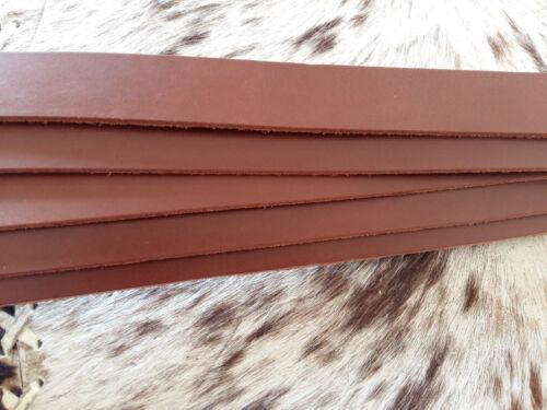 Cuir Courroie épée ceinture latigoriemen 130 cm Cognac Largeur 2 cm Latex