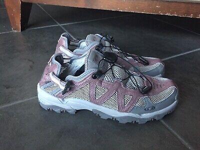 Salomon TechAmphibian Contagrip Cross CountryWaterHike Shoe Womens 8 Purple | eBay