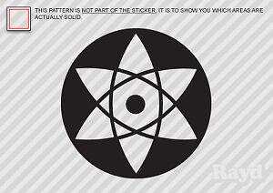 2x Sasuke Mangekyou Sharingan Sticker Decal Die Cut Vinyl Ebay