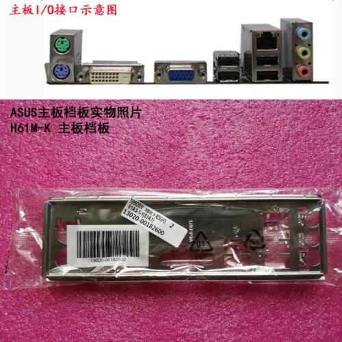 IO I//O Shield Back Plate for ASUS H61M-K、H61M-F、H81M-R、H81M-P、H81M-P-SI RE
