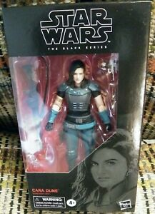 Star-Wars-THE-MANDALORIAN-Black-Series-6-034-INCH-CARA-DUNE-Figure-NEW