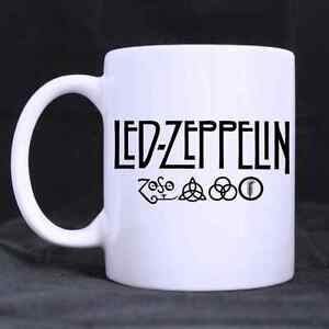 custom funny led zeppelin 11 oz coffee mug tea cup gift ebay. Black Bedroom Furniture Sets. Home Design Ideas