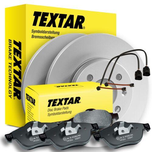 TEXTAR Bremsscheiben+Beläge Mercedes SL R129 278mm HINTEN voll+WK