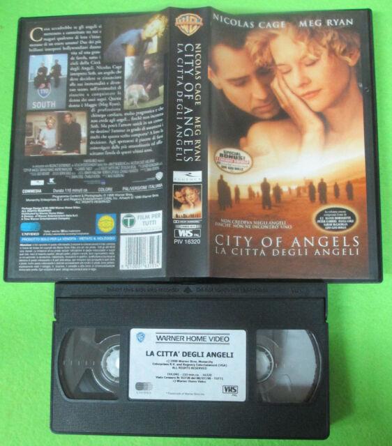 VHS film CITY OF ANGELS La citta'degli angeli 1999 Nicolas Cage Ryan(F10) no dvd