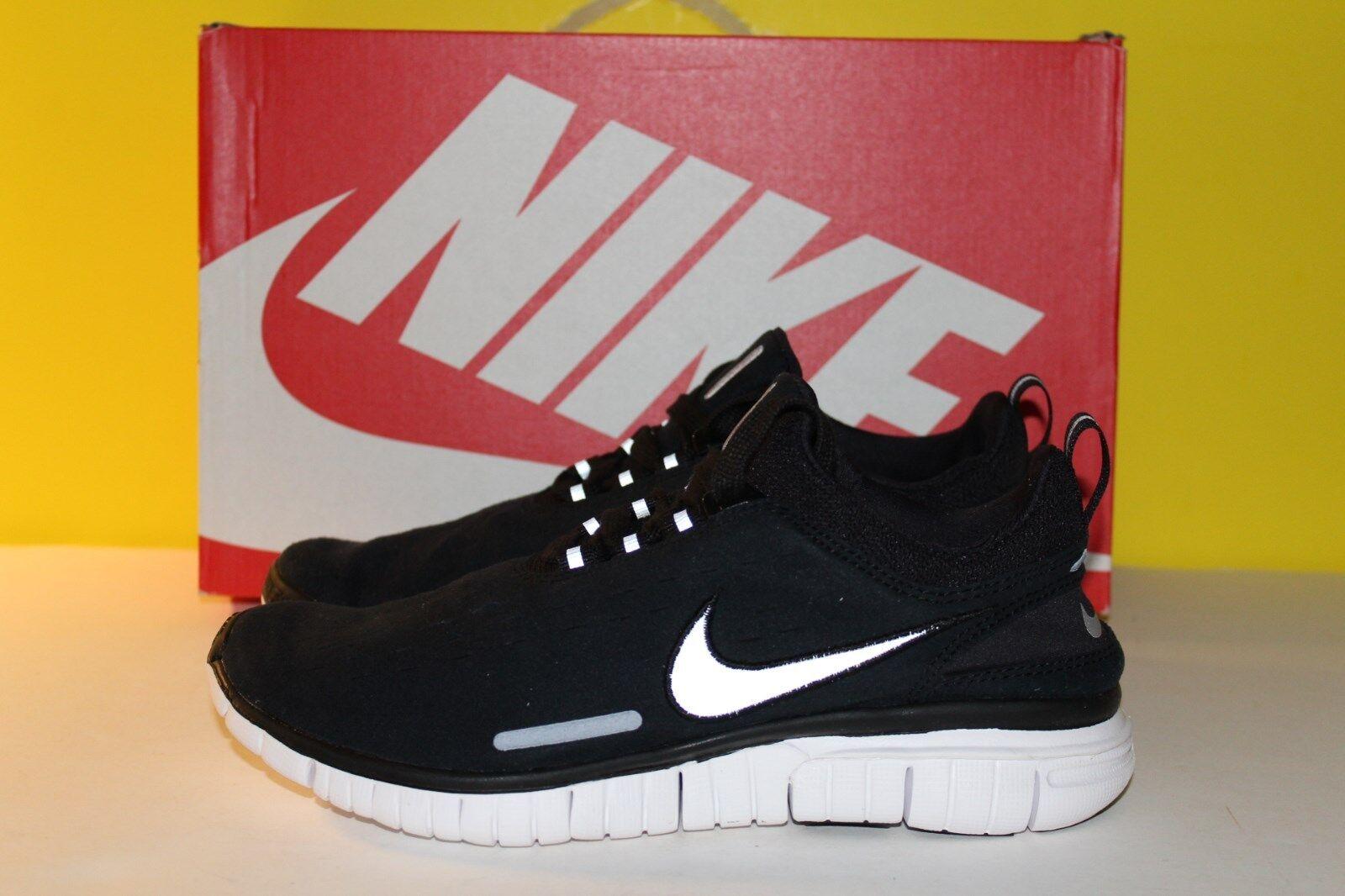 Nike Free OG '14 A.P.C. SP Black Reflect Silver White Mens 7 [705534-091] NIB