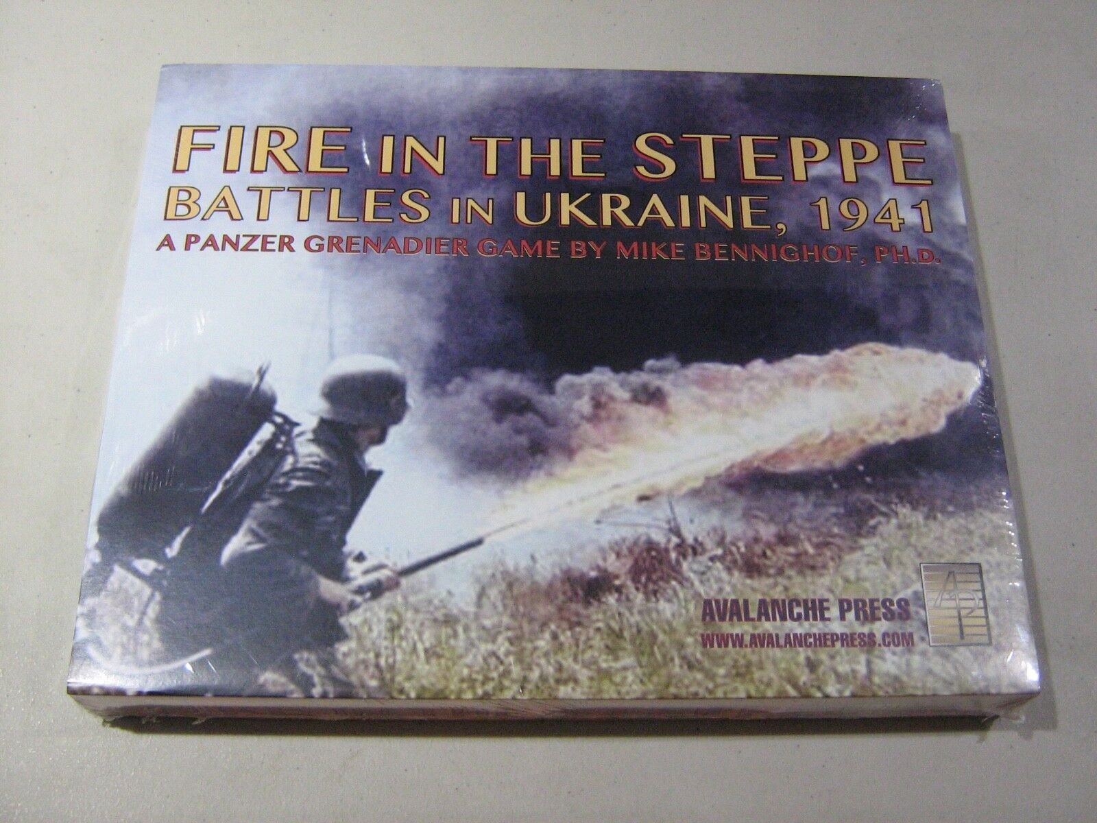 Fire in the Steppe  battles in Ukraine, 1941 (New)