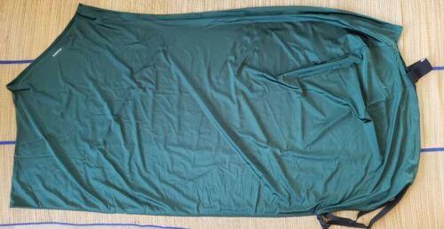 "Horse Stretch Lycra Spandex Sheet Medium 74-78/"" Blanket Hunter Green New"